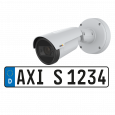 AXIS P1445-LE-3 License Plate Verifier Kit, viewed from its left angle