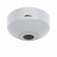 AXIS M3067-P IP camera mounted in ceiling from front