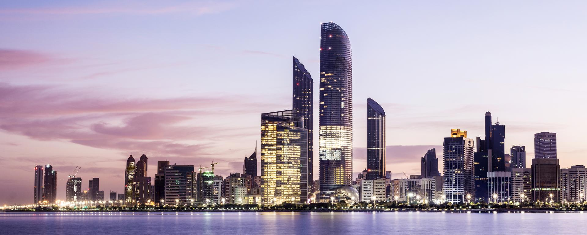 Skyline of Abudhabi