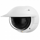 AXIS P3807-PVE has four sensors built into a single camera, and seamless stitching of all four images.