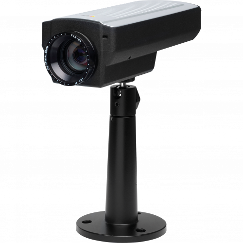 IP Camera AXIS Q1755 has HDTV quality and intelligent video capabilities. The camera is viewed from it´s left.