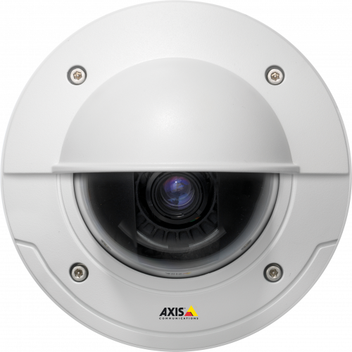 AXIS P3384-VE is an outdoor, vandal-resistant HDTV fixed dome with outstanding video quality in demanding light conditions.