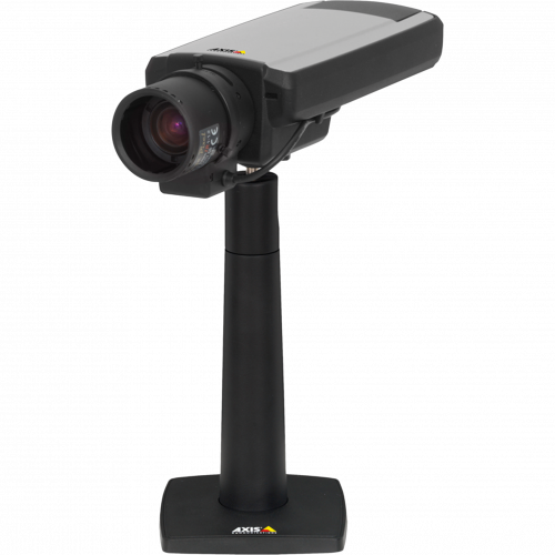 IP Camera AXIS Q1602 has outstanding image performance in poor light conditions. The camera is viewed from it´s left