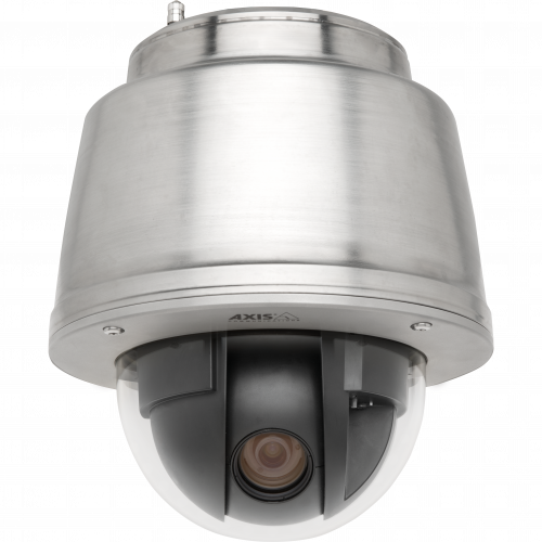 IP Camera AXIS Q6042-S has marine-grade stainless steel and extended D1 resolution and 36x optical zoom.
