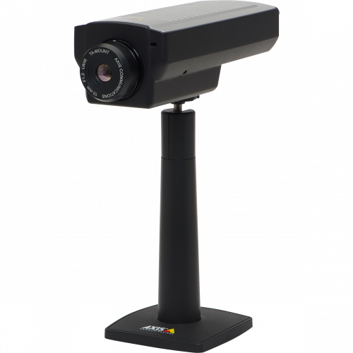 IP Camera AXIS Q1922 has superior VGA resolution and thermal imaging. Viewed from it´s left side.