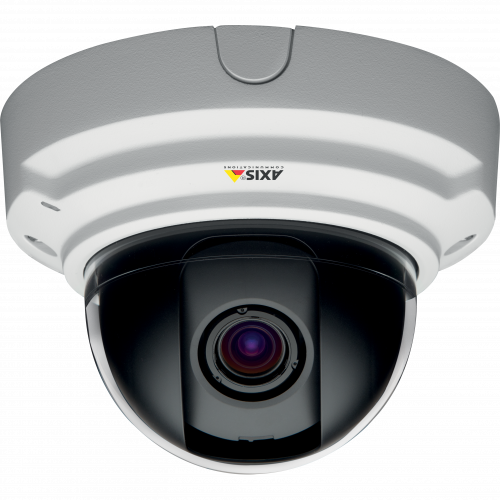 AXIS P3384-V IP camera is a fixed dome for indoor use with WDR-dynamic capture and lightfinder technology.