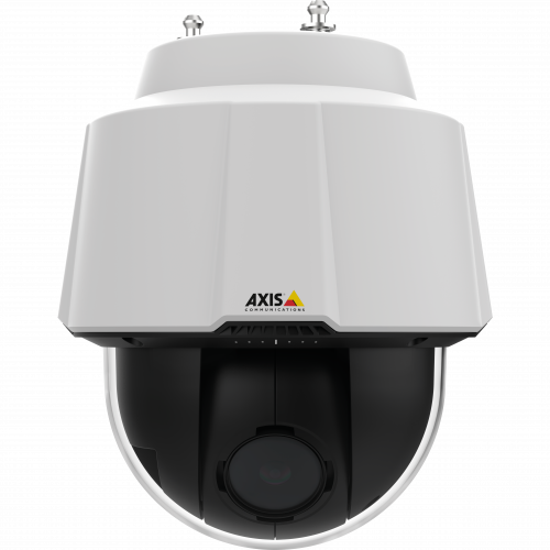 IP Camera AXIS P5624-E has continuous 360° pan and excellent light sensitivity. Viewed from it´s front