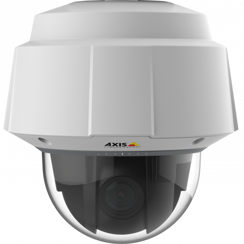 AXIS Q6052-E is an outdoor-ready PTZ camera with Lightfinder technology and focus recall.