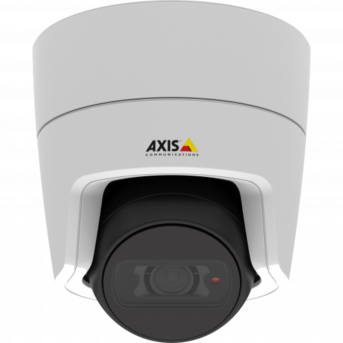 AXIS M3106-LVE is an outdoor-ready IP camera in discreet design with built-in IR illumination and Zipstream technology.
