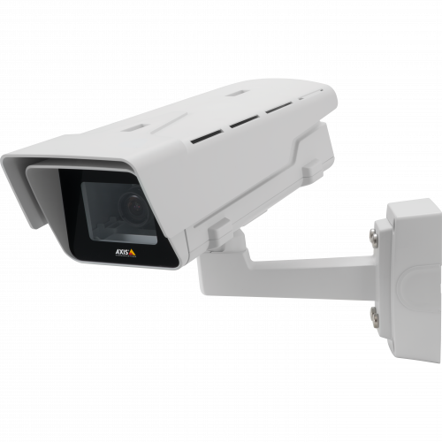 AXIS P1365-E Mk II is a roboust IP camera that's outdoot ready and has Zipstream