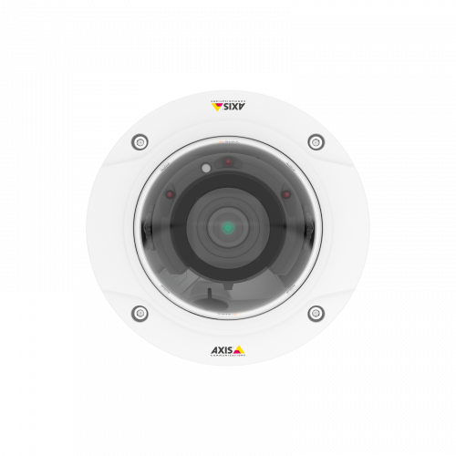 Axis IP Camera P3228-LVE Zipstream for reduced bandwidth,storage needs and remote zoom and focus