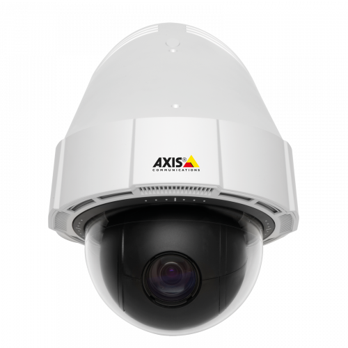 Axis IP Camera P5414-E has Two-way audio & input/output ports and HDTV 720p performance