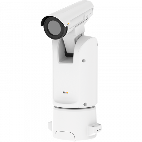AXIS Q8642-E PT Thermal IP Camera from left angle