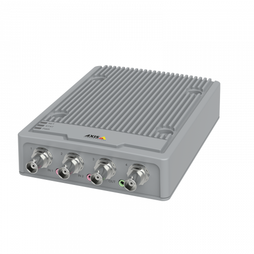 AXIS P7304 Video Encoder from left angle