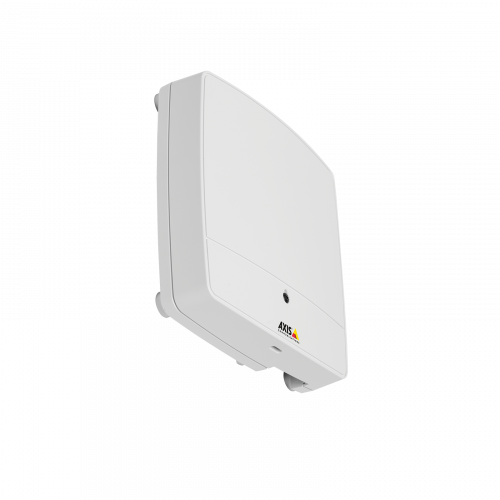 AXIS A1001 Network Door Controller, viewed from its right angle