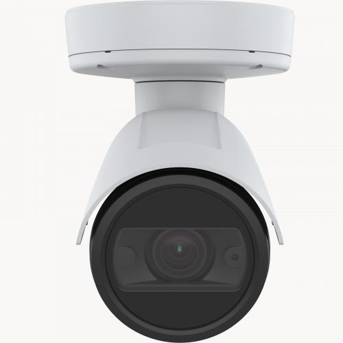 AXIS P1447-LE IP Camera, viewed from its front.