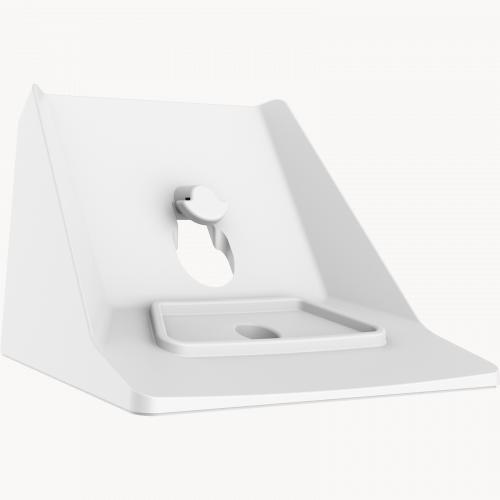 Table stand bracket for AXIS M1045-LW IP Camera. Viewed from its right angle.