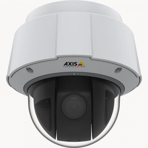 IP Camera AXIS q6075-e has TPM, FIPS 140-2 level 2 certified. The camera is viewed from it´s front.