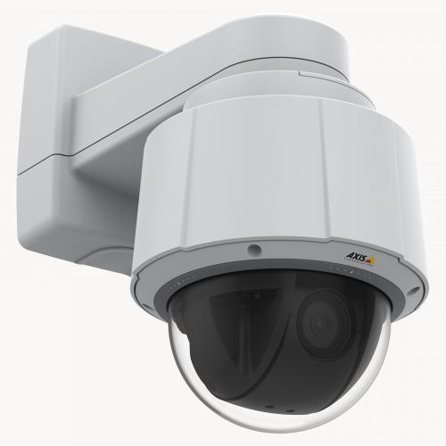 Axis IP Camera Q6074 has Axis Lightfinder 2.0 and Built-in analytics