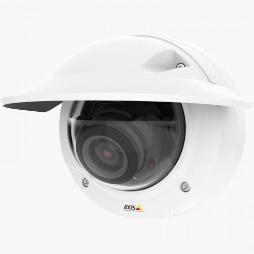 Axis IP Camera P3227-LVE has 5 MP resolution in full frame rate
