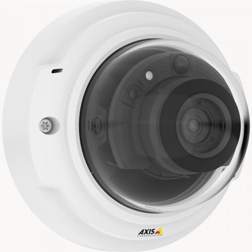 Axis IP Camera P3374-LV is superb, vandal-resistant day-and-night dome in 1080p with WDR, Zipstream and OptimizedIR