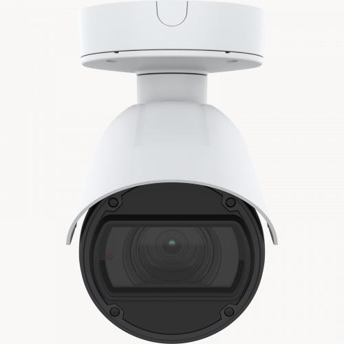 AXIS Q1785-LE IP Camera has OptimizedIR. The product is viewed from its front.