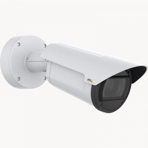 AXIS Q1785-LE IP Camera has OptimizedIR. The product is viewed from its right angle.