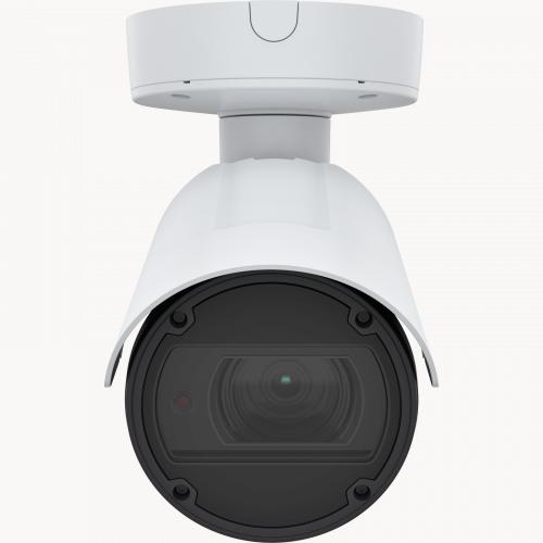 AXIS Q1798-LE IP Camera has Zipstream and Lightfinder. The product is viewed from its front.