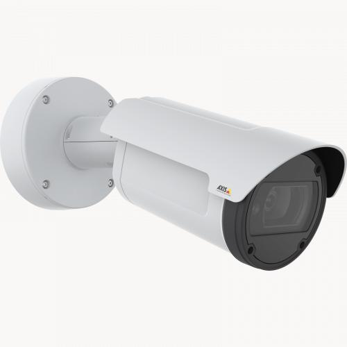 AXIS Q1798-LE IP Camera has Zipstream and Lightfinder. The product is viewed from its right angle.