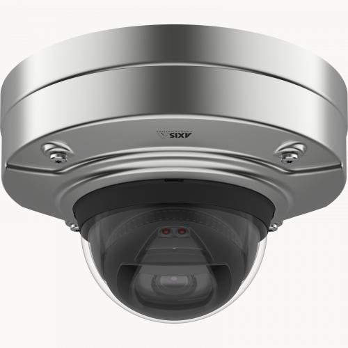 Axis IP Camera Q3517-SLVE has Forensic WDR, Lightfinder and OptimizedIR