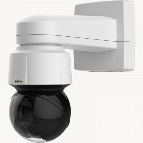 Axis IP Camera Q6155-E has Robust wide-angle surveillance in 4 MP with IR