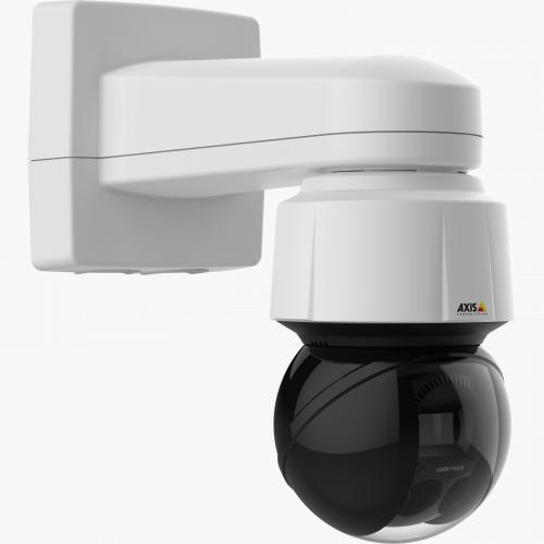 Axis IP Camera Q6155-E has Axis Sharpdome technology with Speed Dry and Laser focus