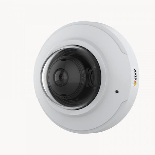 AXIS M3075-V IP Camera from left angle