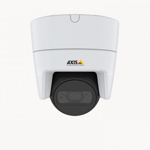 AXIS M3115-LVE IP Camera mounted in ceiling from front