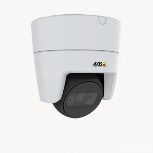 AXIS M3116 LVE mounted in ceiling from right angle