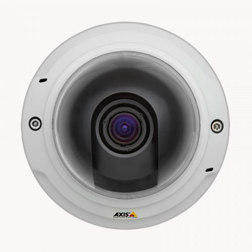 Axis IP Camera P3367-V has Multiple H.264 streams and Motion JPEG video streams