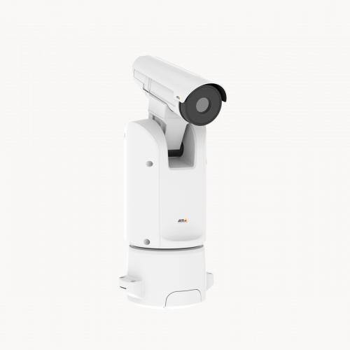 Axis Q 8641-E PT Thermal IP Camera from right angle