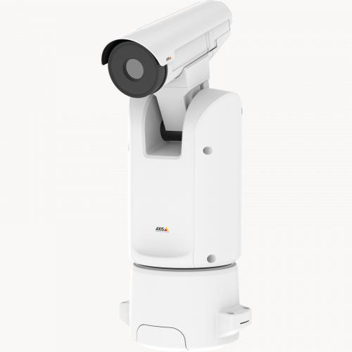 AXIS Q8641-E PT Thermal IP Camera from left angle