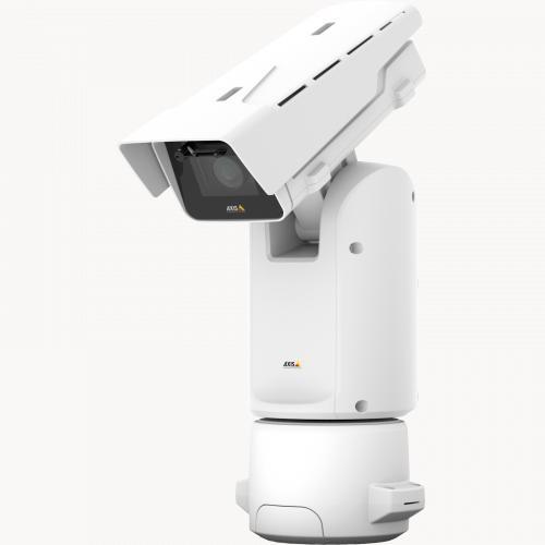 IP-камера Axis Q8685-E поддерживает панорамирование на 360° и наклон в диапазоне углов 135° (от земли до неба)