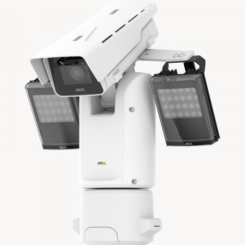 IP-камера Axis Q8685-LE защищена от атмосферных воздействий и поддерживает дистанционное обслуживание