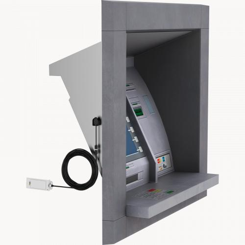 AXIS P1264 in ATM Machine from right angle