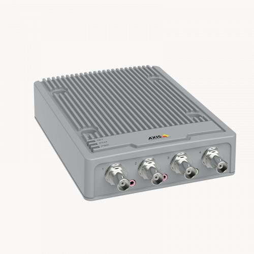 AXIS P7304 Video Encoder from right angle