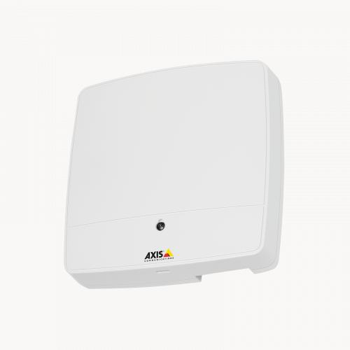 AXIS A1001 Network Door Controller, viewed from its left angle