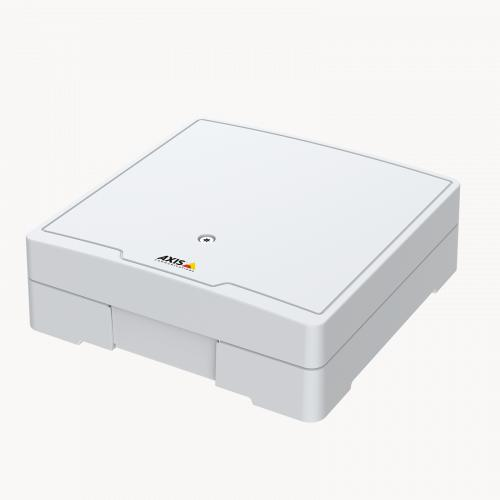 AXIS A1601 Network Door Controller, viewed from its left angle