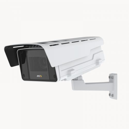 AXIS Q1615-LE Mk III IP Camera viewed from its left angle