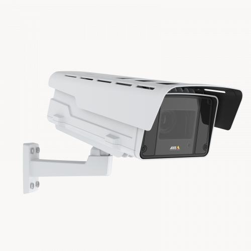 AXIS Q1615-LE Mk III IP Camera viewed from its right angle