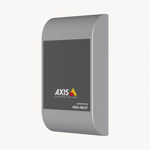 AXIS A4010-E Reader without Keypad, viewed from its left angle