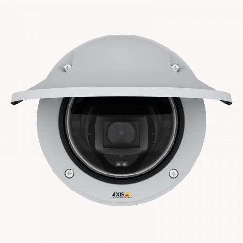AXIS P3247-LVE offers excellent image quality with 5 MP resolution at up to 30 fps.
