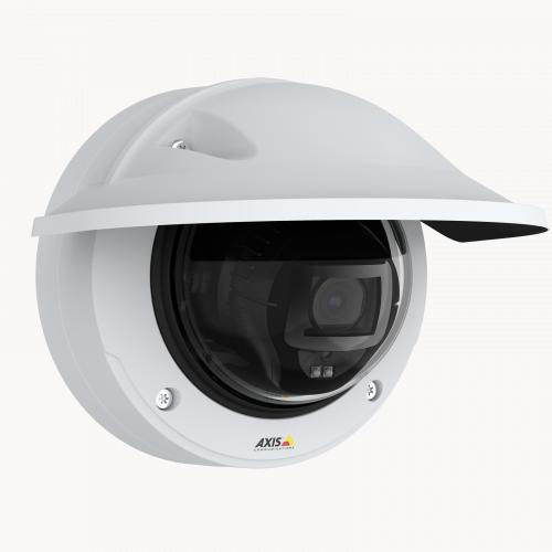 AXIS P3247-LVE is a robust, outdoor-ready fixed dome that delivers 5 MP resolution in any light.
