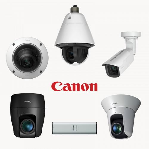 Canon network cameras collage